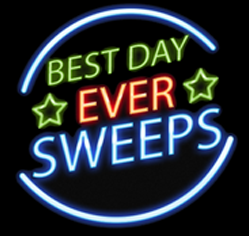Best Day Ever Sweeps Desktop logo