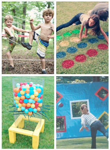 12 Really Fun DIY Games to Play Outdoors with your Family this Summer