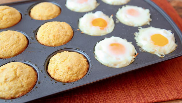 12 Muffin Tin Breakfast Recipes