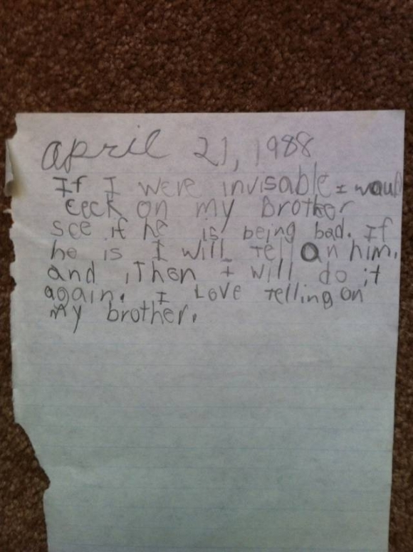 12 Funny Notes Written By Kids