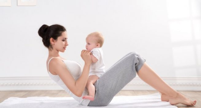 The Best Weight-Loss Tips for New Moms