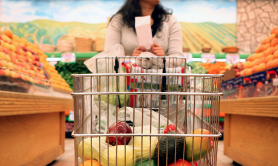 Win the grocery game by developing a strategy