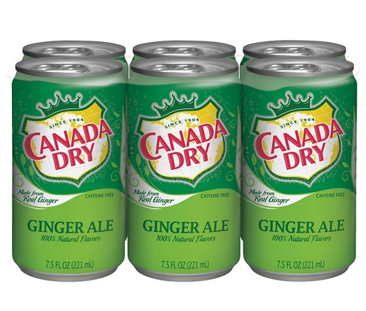 Does Canada Dry Ginger Ale Contain Ginger? This Lawsuit Says 'No'