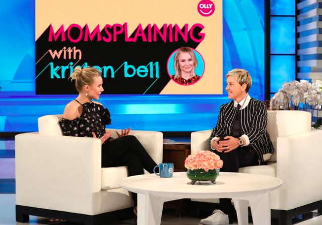 Kristen Bell shares what she knows about parenting in new series 'Momsplaining'