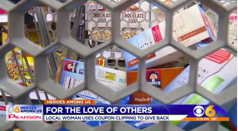 Richmond woman uses couponing to help feed the homeless
