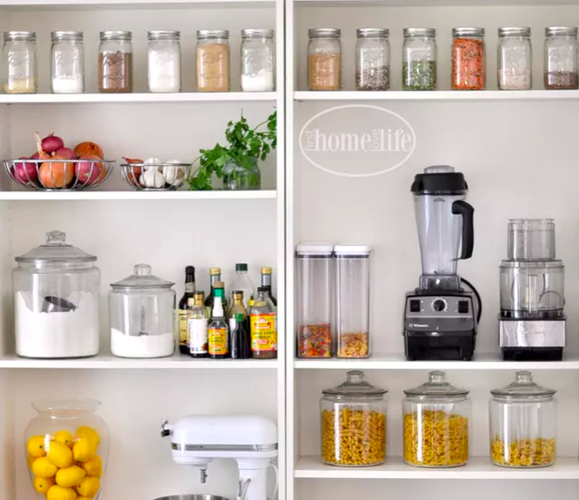 5 Ingenious Budget Pantries Hacked From IKEA Storage Basics