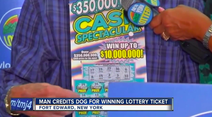 Man buys Slim Jims for his dog, lottery ticket, wins $10M