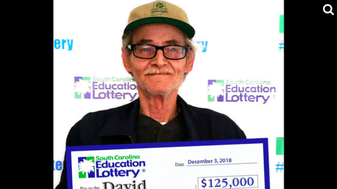 Greer man wins $125K on scratch-off lottery ticket