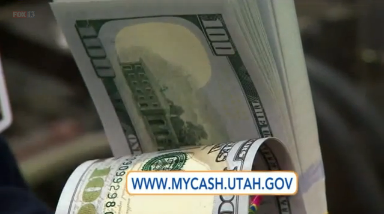 1 in 5 Utahns have unclaimed money from the government!