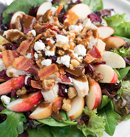 Apple, Feta, Chicken Salad