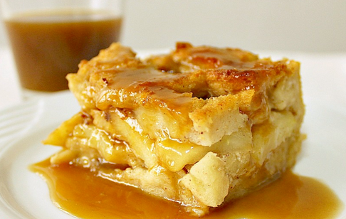 TheMommyGuide - Apple and Maple Bread Pudding
