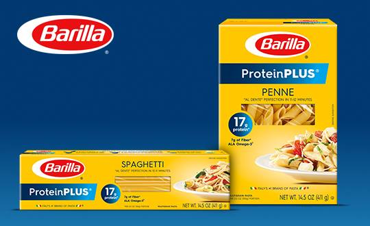 Enter Free Barilla ProteinPLUS Pasta with BzzAgent