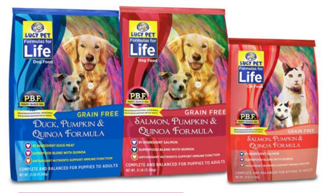 Enter Free Sample of Formulas for Life Pet Food