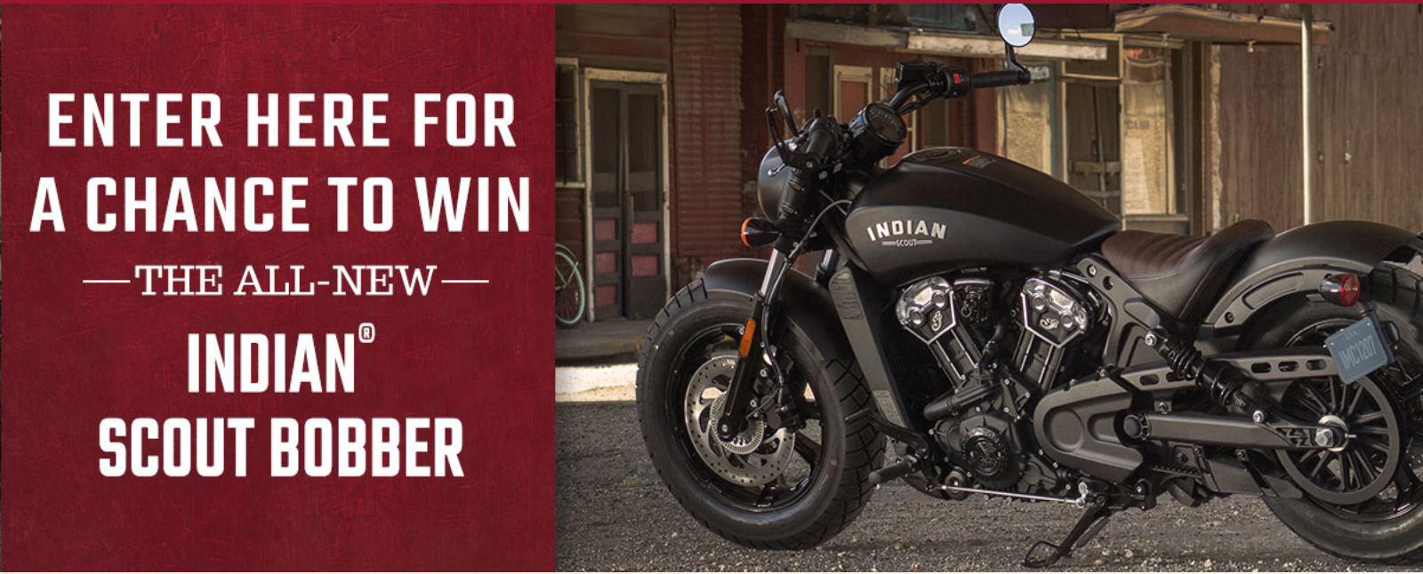 Polaris Online Sweepstakes Giveaway - Indian Motorcycle