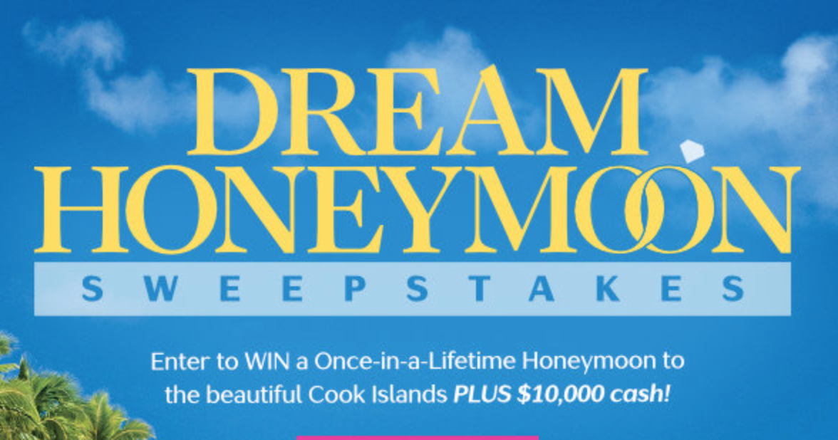 Dream Honeymoon Sweepstakes from Martha Stewart Weddings