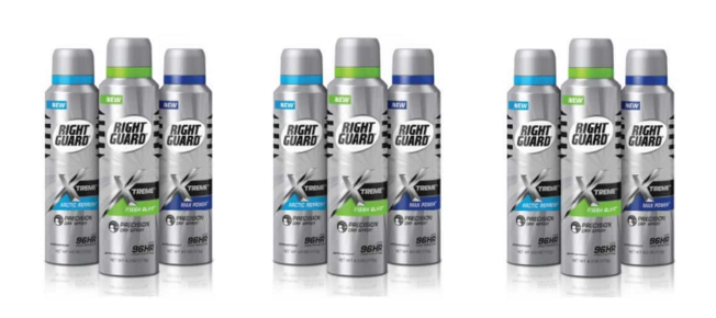 Enter Free Right Guard Xtreme Dry Spray with Mail-In Rebate