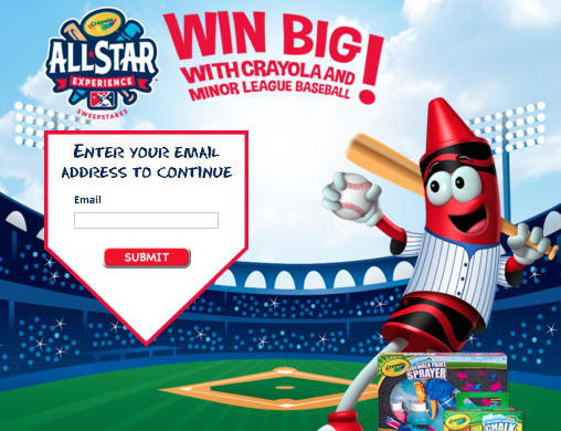 Enter Crayola - All Star Experience Sweepstakes
