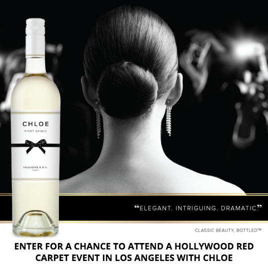 Enter Chloe Wine Collection - Red Carpet Sweepstakes