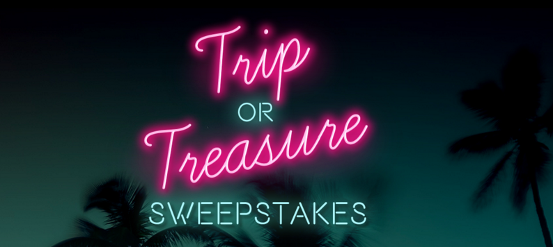 Enter Nutrisystem - Trip or Treasure Sweepstakes