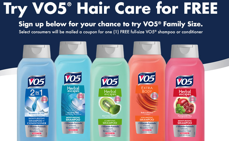 Free Family-Size Alberto VO5 Shampoo or Conditioner