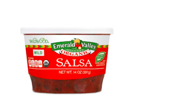 Free Emerald Valley Kitchen Organic Salsa Container