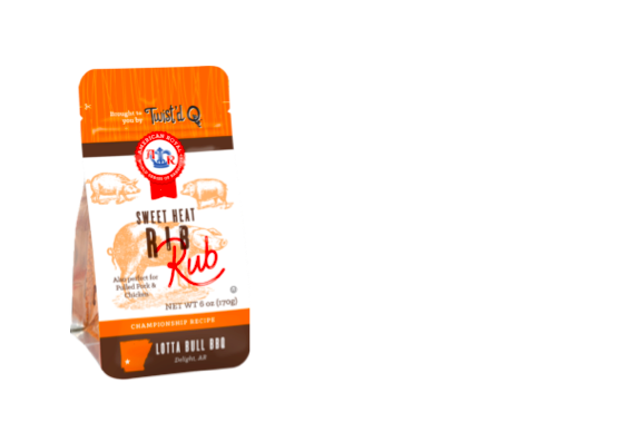 Enter Free Twist'd Q Barbeque Rub Sample