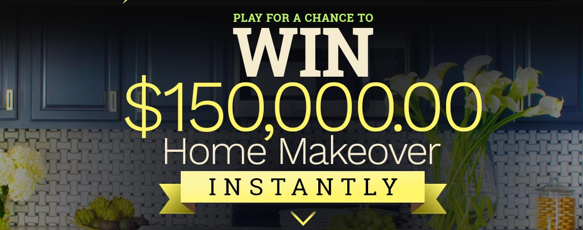 Enter to Win a $150,000 Home Makeover