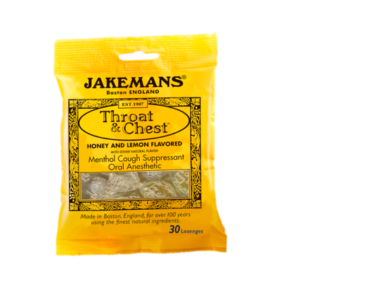 Free Jakemans Natural Throat + Chest Lozenges