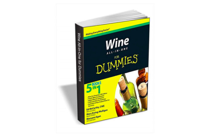 Get a FREE Wine for Dummies Book