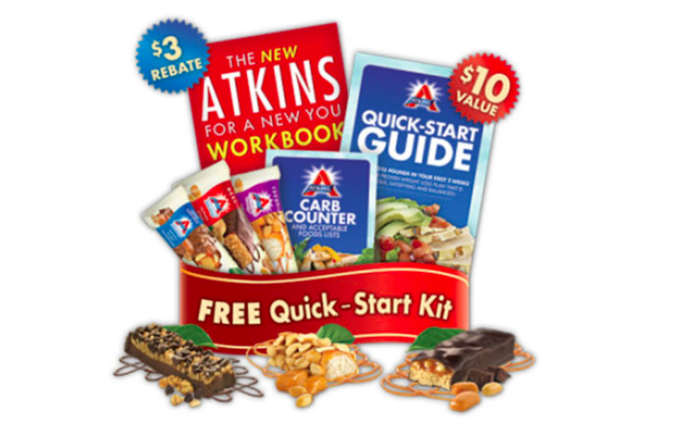 Get a FREE Atkins Quick Start Kit