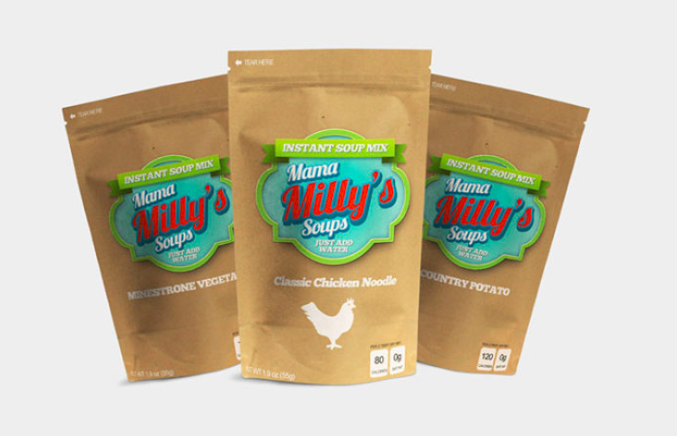 Enter Get A FREE Sample of Mama Milly's Soup!