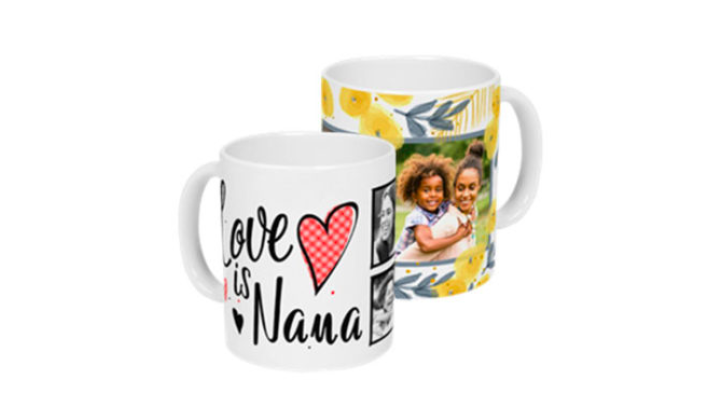 Get a FREE Customized Mug!