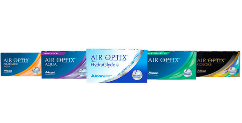 Get a FREE Pair of Air Optix Contact Lenses
