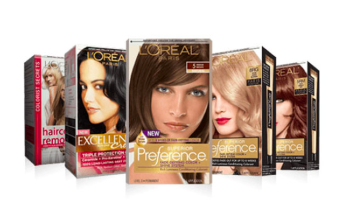 Get FREE L'Oreal Hair Dye Samples