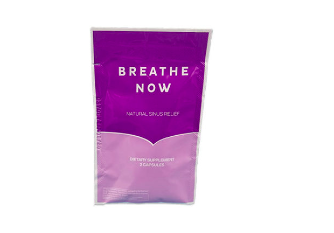 FREE Breathe Now Sinus Relief Sample