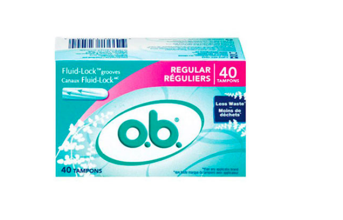 FREE 40-Count Box of o.b. Tampons
