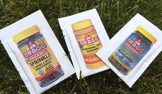 Get FREE Bragg Seasoning Samples!