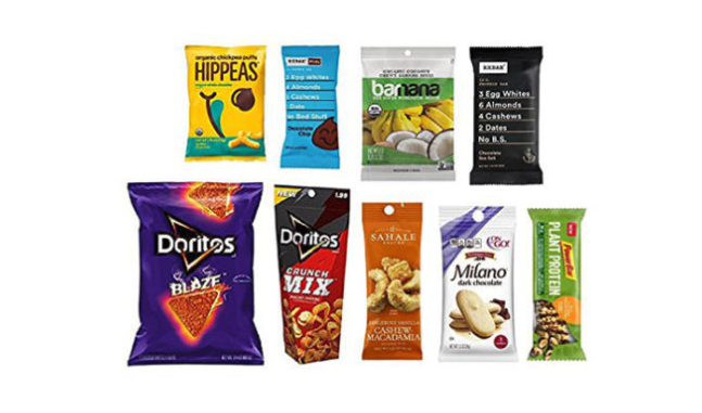 FREE Snack Sample Box for Amazon Prime Members!