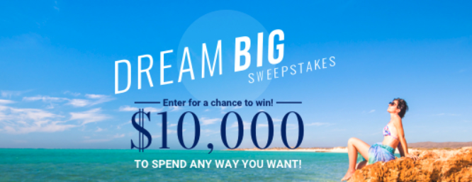 Dream Big $10,000 Giveaway