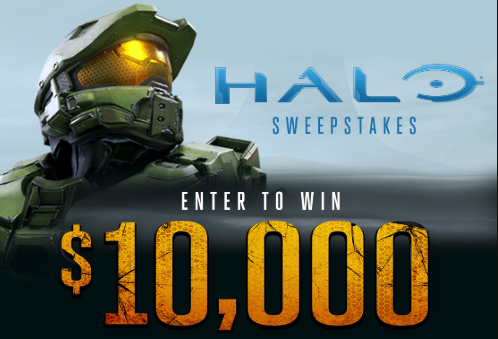 Halo $10,000 Sweepstakes