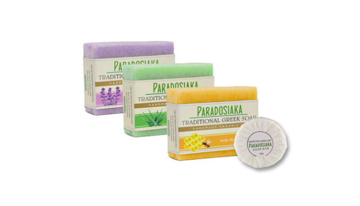 Get a FREE Sample of Paradosiaka Greek Olive Oil Soap!