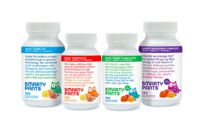 Enter Get a FREE Sample of SmartyPants Gummy Vitamins!