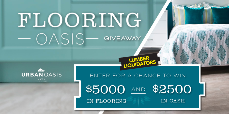 DIY Network - Flooring Oasis Giveaway