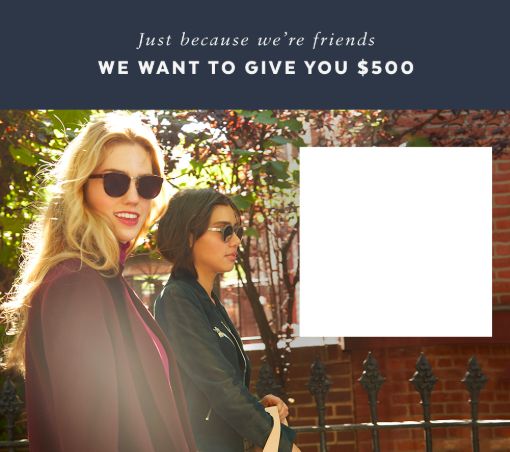 PopSugar Just Because $500 Giveaway