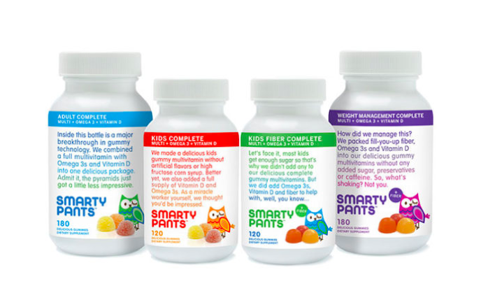 Enter Sample of SmartyPants Vitamins