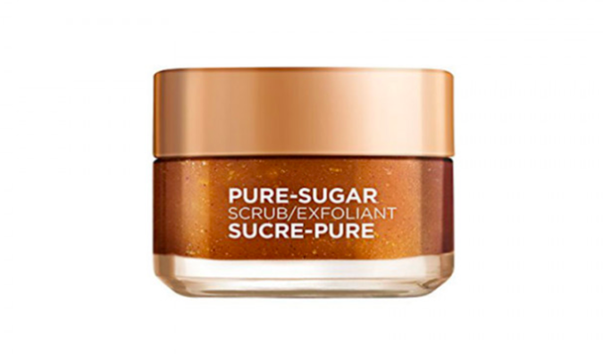 Enter Get a Sample of L'Oreal Pure-Sugar Scrub