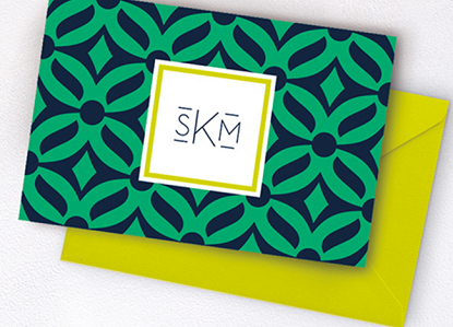 Enter Free Monogram Stationery Set from Virginia Slims