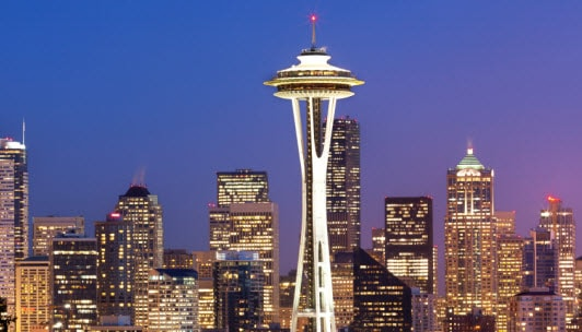 Win a trip for 2 to Seattle, WA