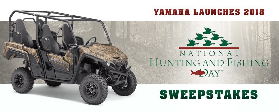 National Hunting and Fishing Day Sweepstakes