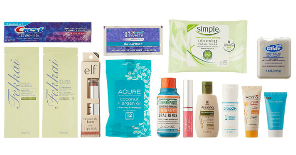 Enter FREE Beauty Sample Box after Amazon Credit with NEW Products